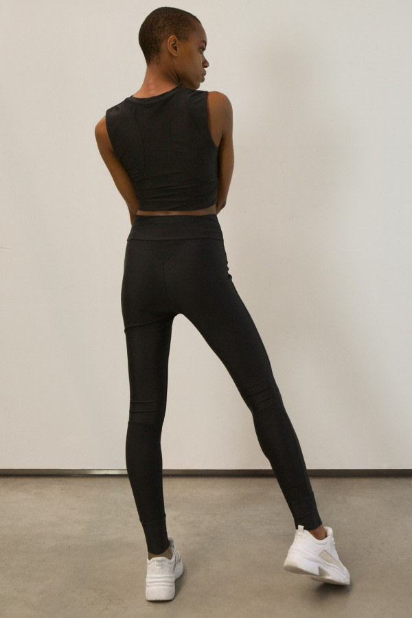Black UPF 50+ High-Waist Leggings