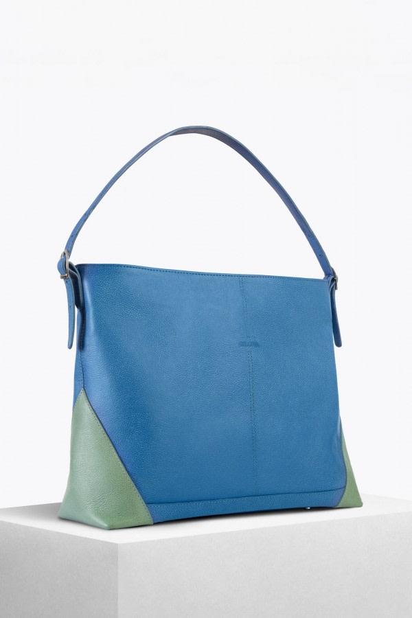 Boheme Sky Blue Hobo Bag