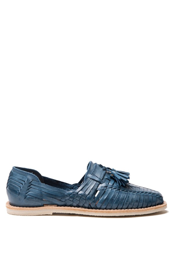 Frida Tassel Leather Loafers