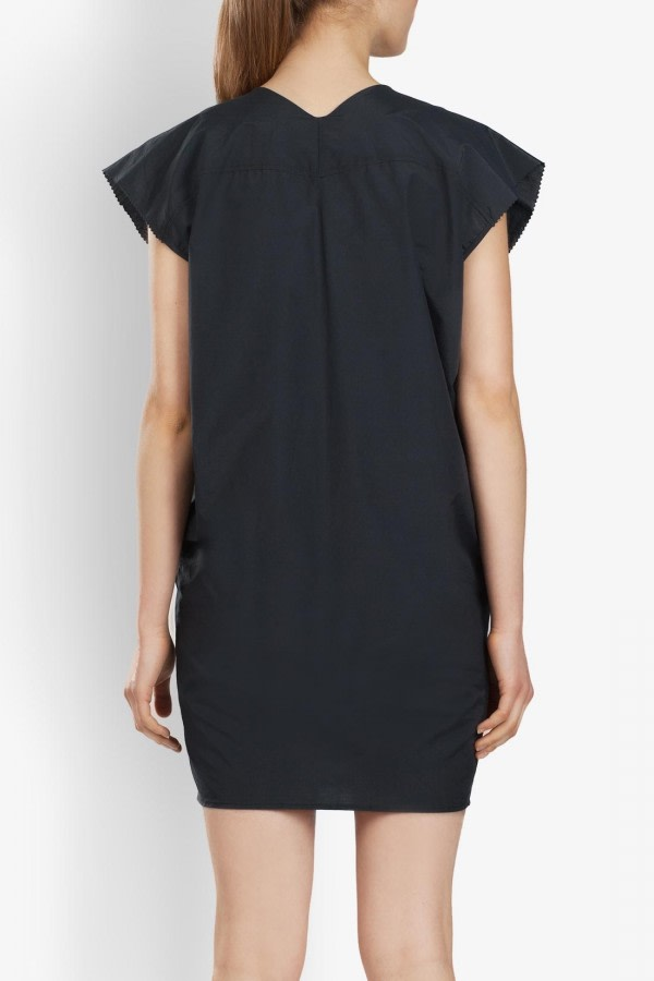 Pleated Tencel Dress