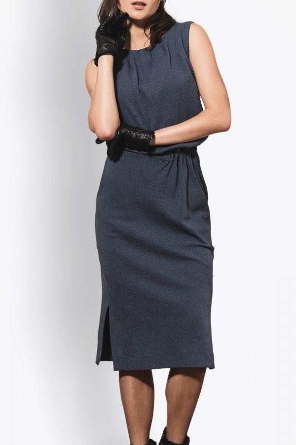 Taurus Organic Cotton Midi Dress