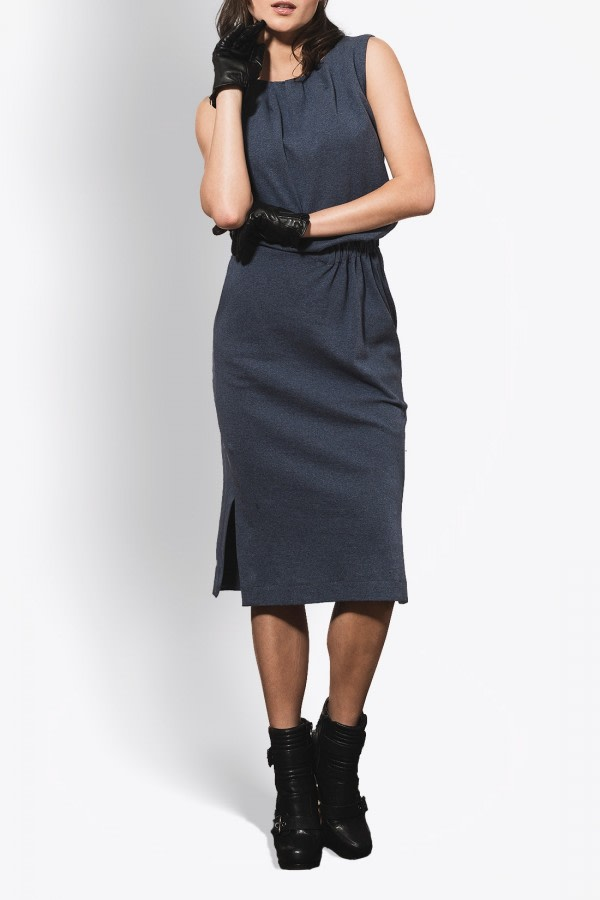Taurus Organic Cotton Midi Dress