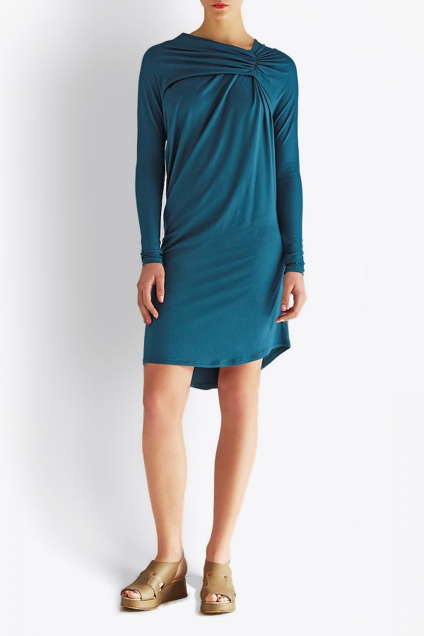 Canard Asymmetric Bamboo Dress