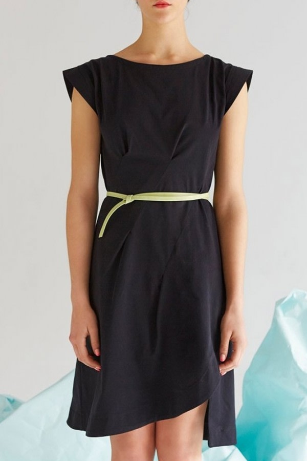 Arat Black Organic Cotton Dress