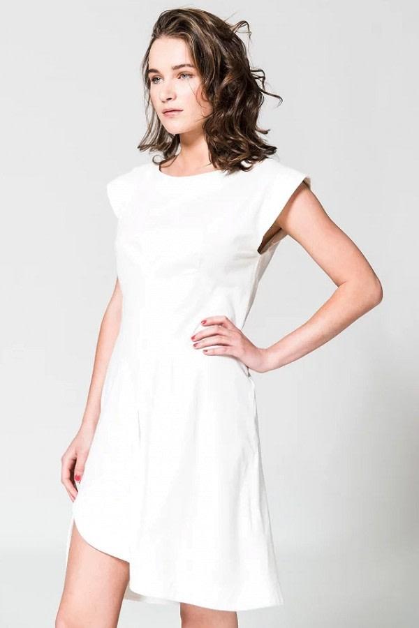 Arat White Organic Cotton Dress