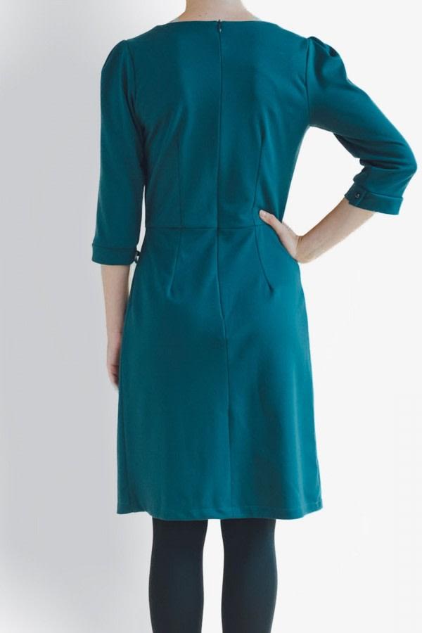 Silene Blue Midi Dress