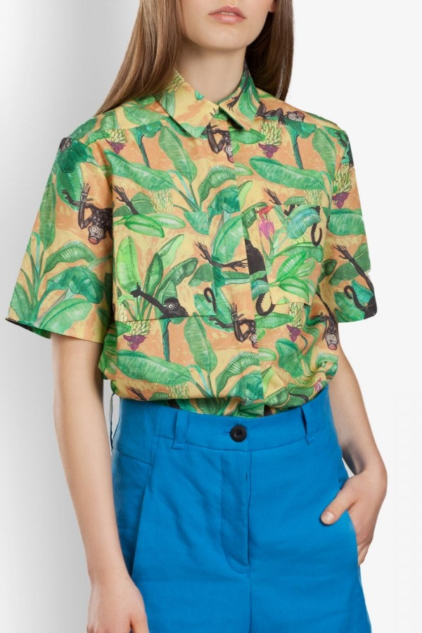 Magnum Tropical-Print Shirt