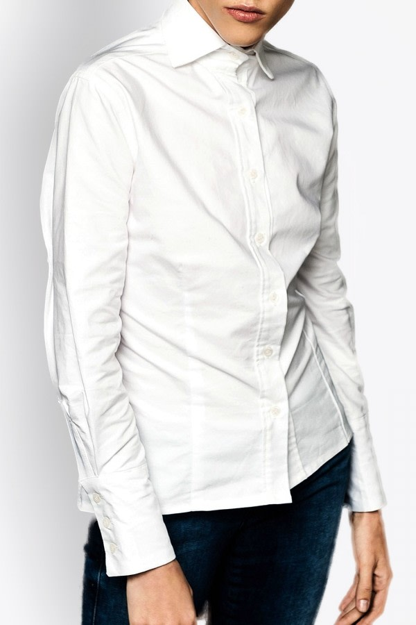 Sofia White Organic Cotton Shirt