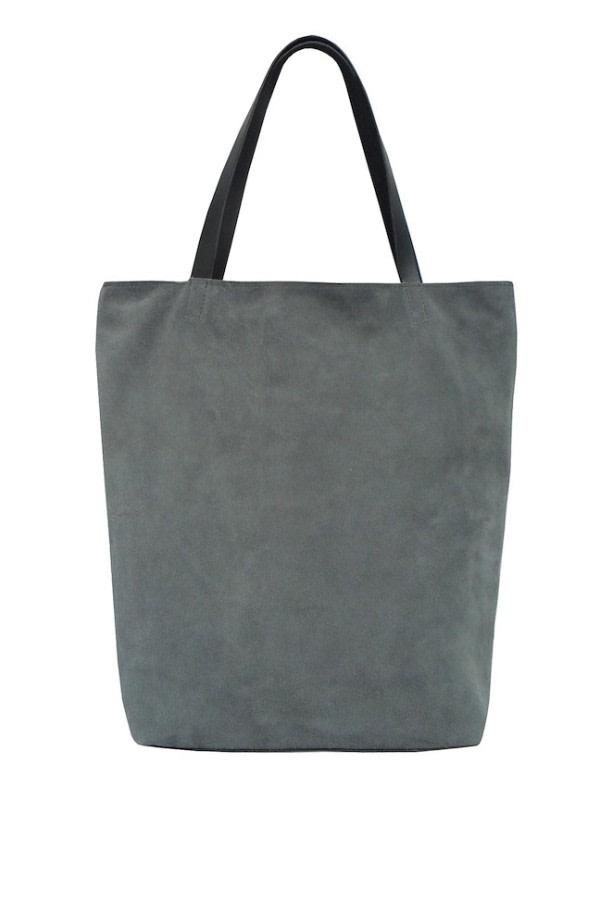 Frazil Suede Tote Bag