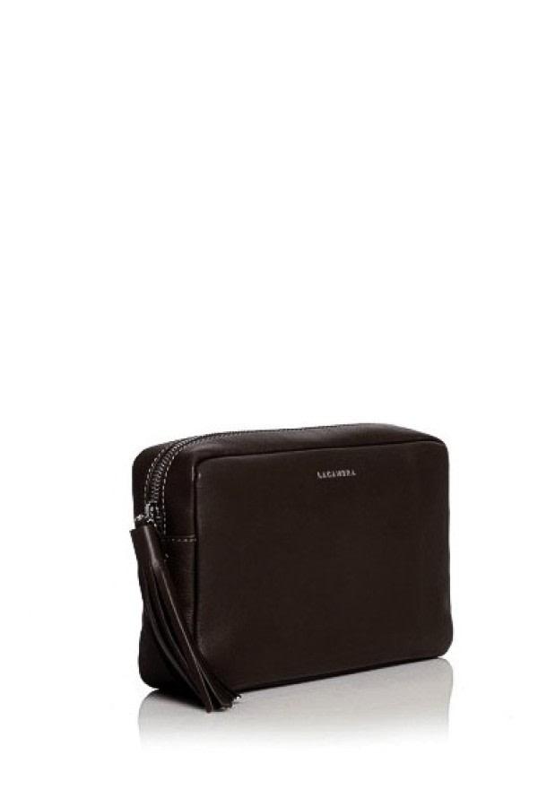 Caoba Leather Crossbody Bag