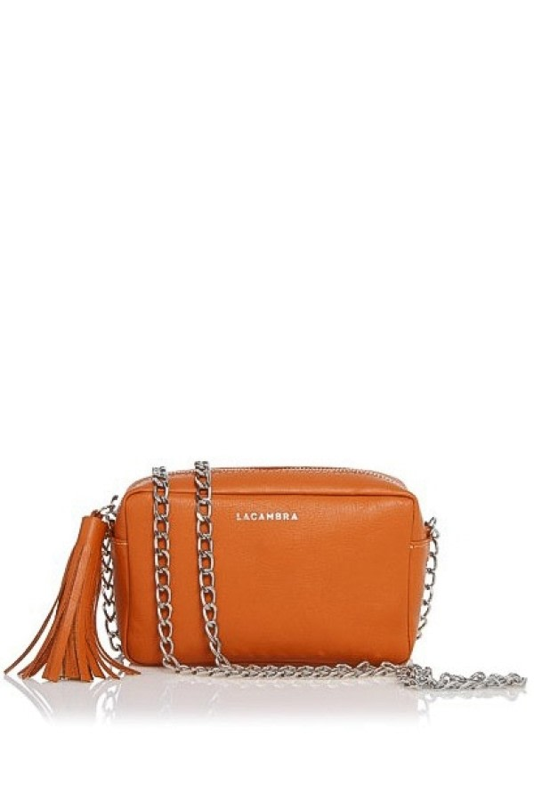Mini Tassel Leather Crossbody Bag