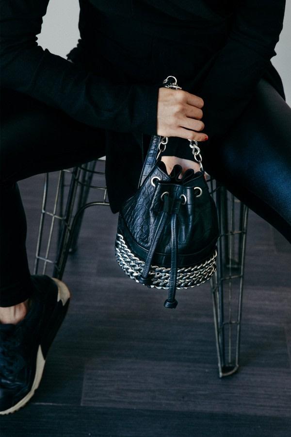 Chain Bucket Bag