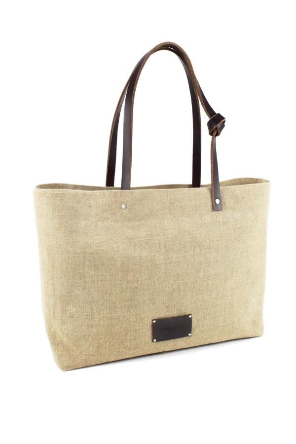 Lagos Linen Tote Bag