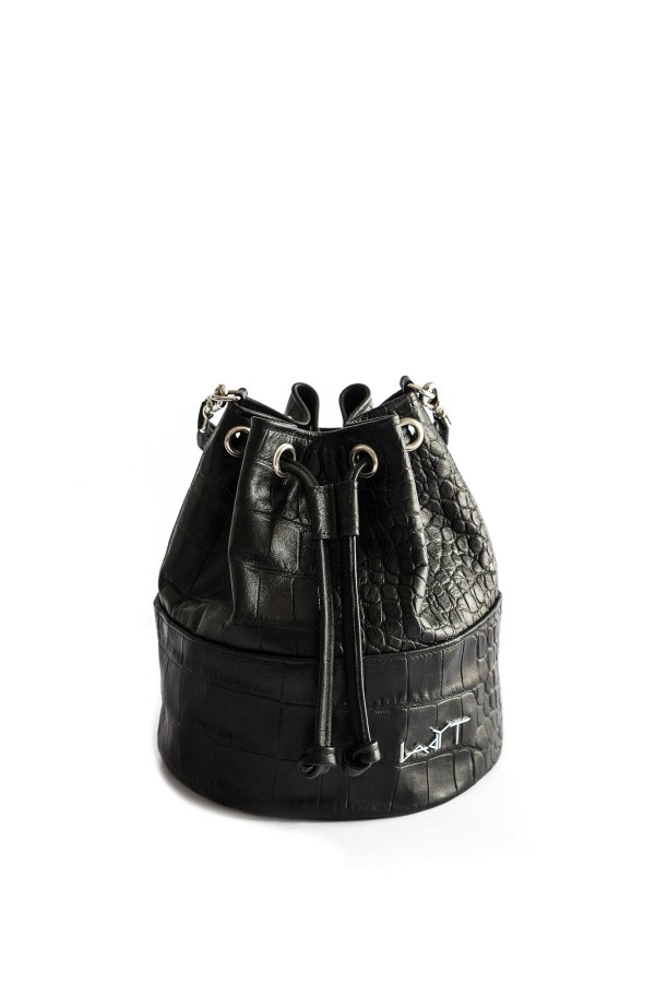 Mini Drawstring Bucket Bag