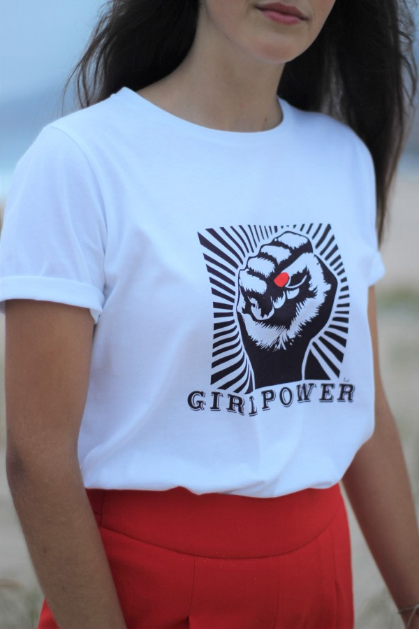 Organic T-shirt Girl Power