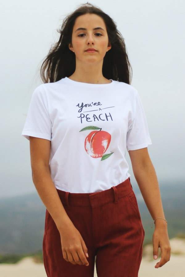 Organic T-shirt Like a Peach