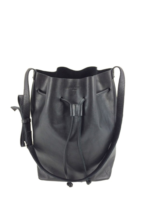 Paca Leather Bucket Bag