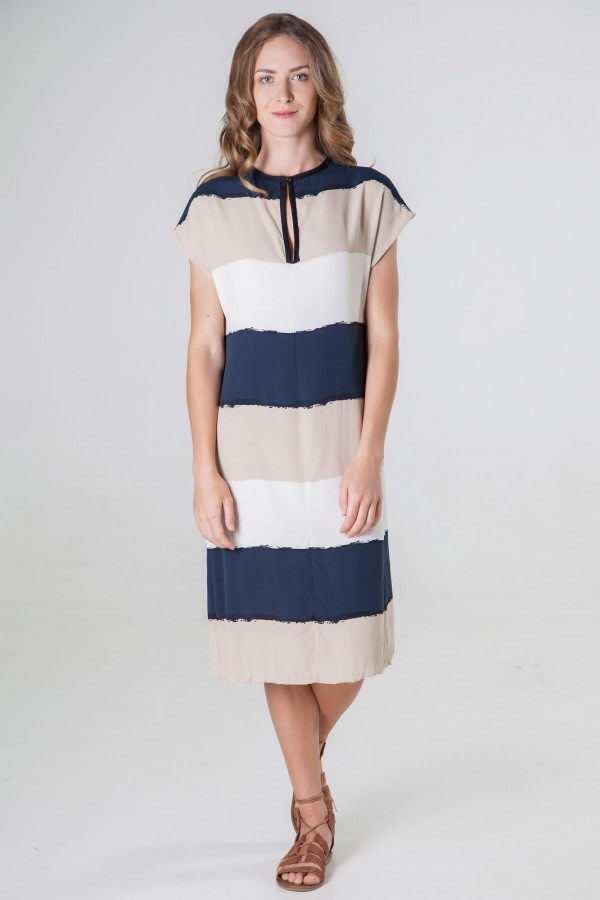 Rita Striped Tunic Dress