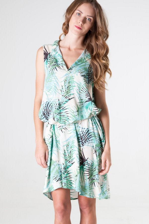 Bolly Jungle-Print Dress
