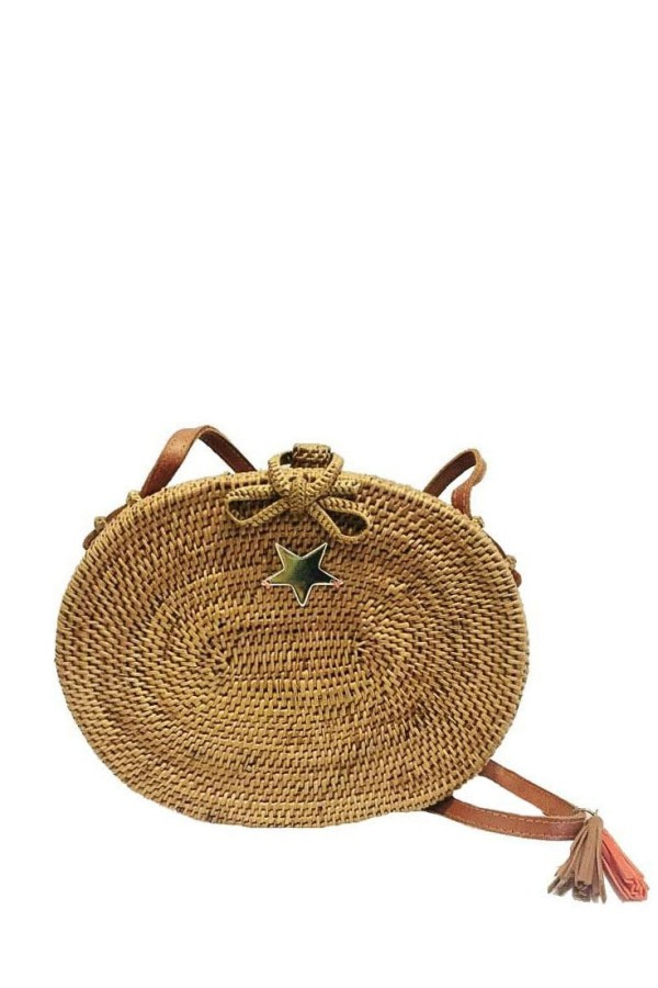 Saku Natural Wicker Bag