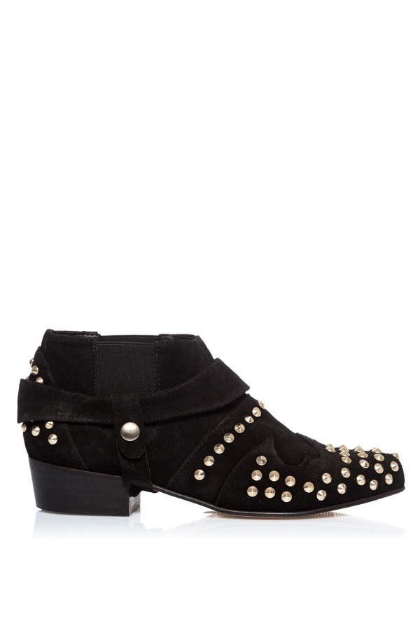 Daria Black Ankle Boots