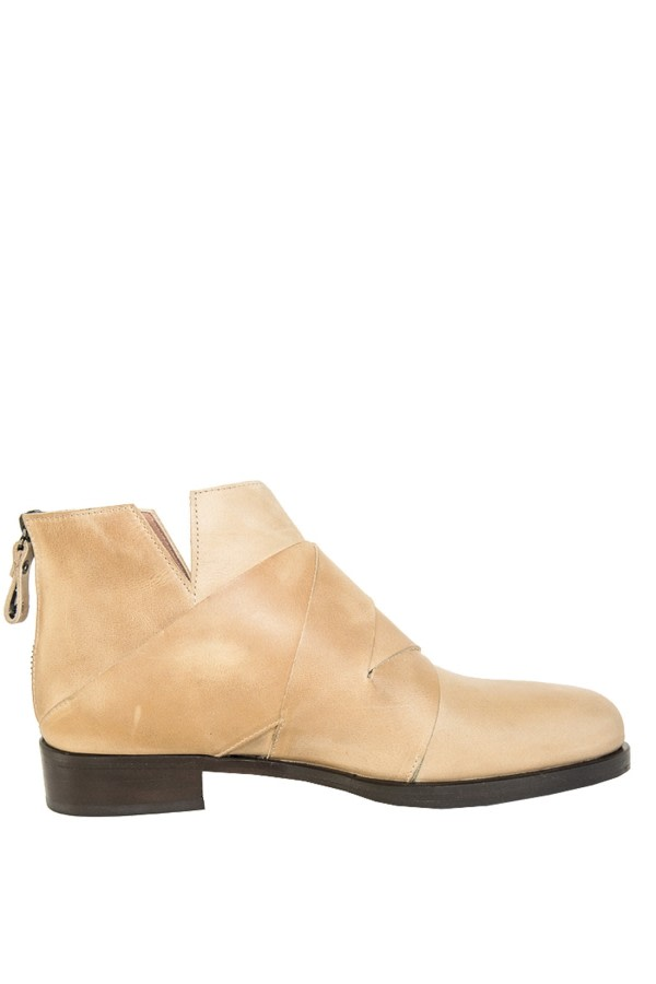 Soam Leather Ankle Boots