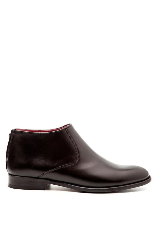 Astrud Black Leather Boots