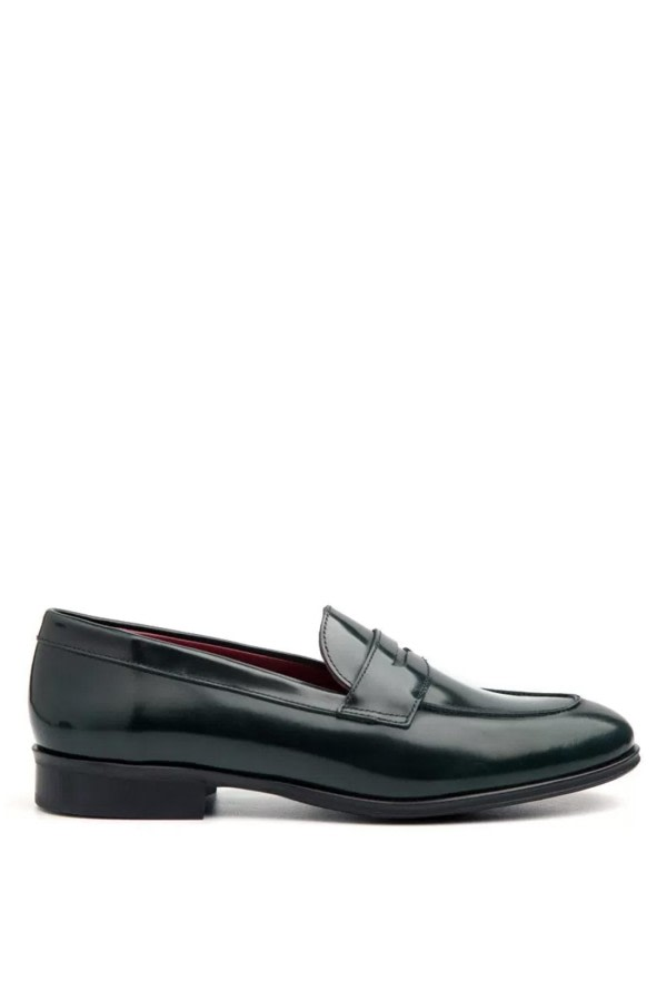 Irma Green Loafers