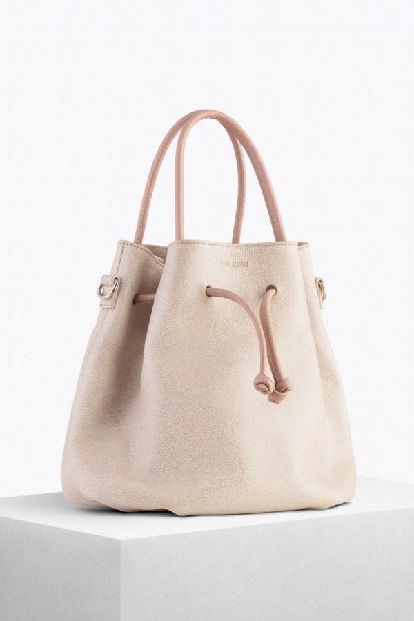 Tulipa Bio Leather Bucket Bag