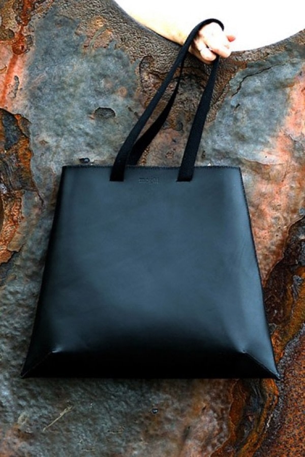 Pure Black Convertible Backpack