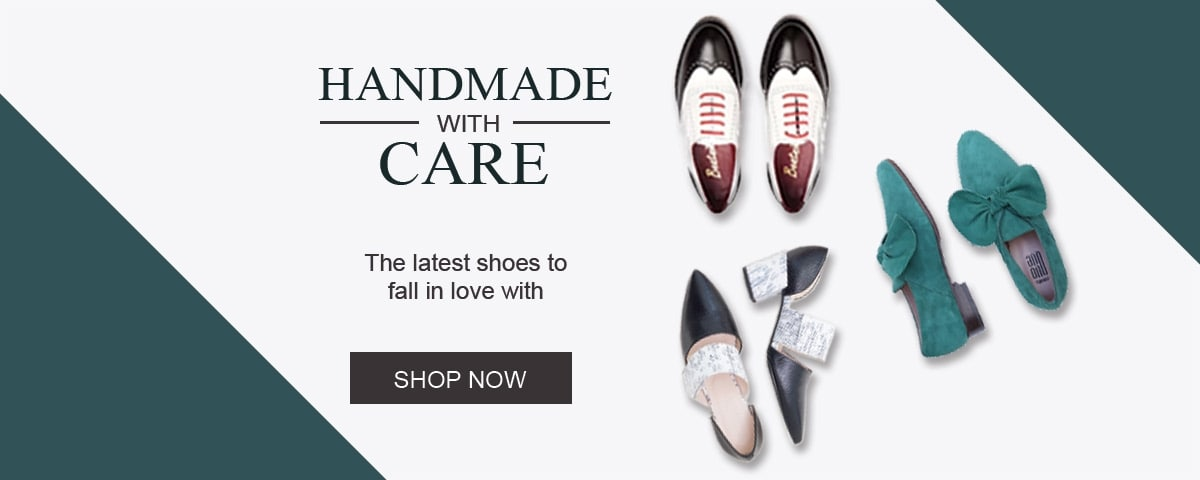 Womens shoes handmade with care by sustainable, slow fashion designer
