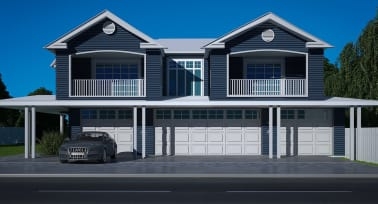 hamptons style SDA property