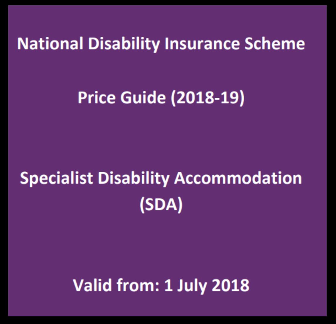 SDA Price Guide