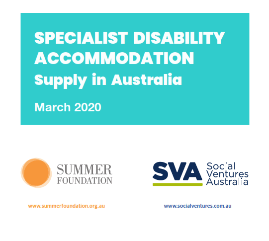 Specialist Disability Accommodation