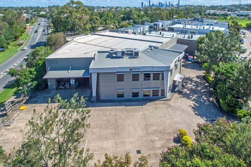 Aerial of NDISP House