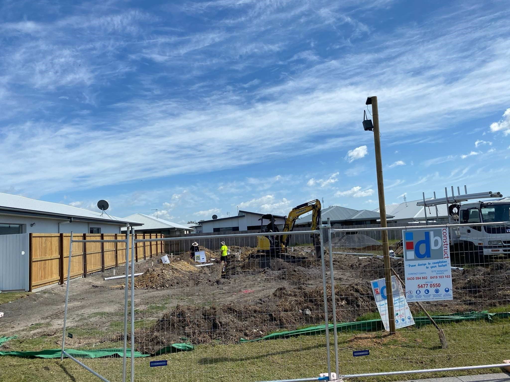 Siteworks and Plumbing in Caloundra SDA Property