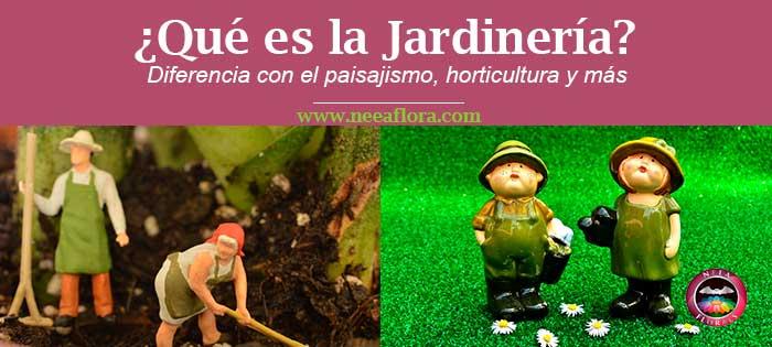 En este blog hablo mucho de la jardinería, pero...¿Qué es la jardinería? Además ¿Qué diferencia hay entre la jardinería y el paisajismo, horticultura, agricultura, floricultura y otros términos? En este artículo lo explicaré rápido y fácil.