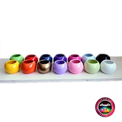 Materas cerámica bolitas colores Neea Flora
