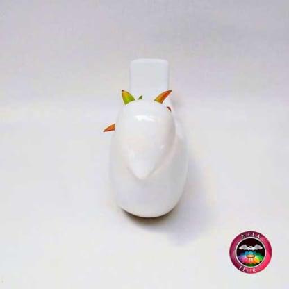 Suculenta maceta cerámica animales paloma frontal Neea Flora