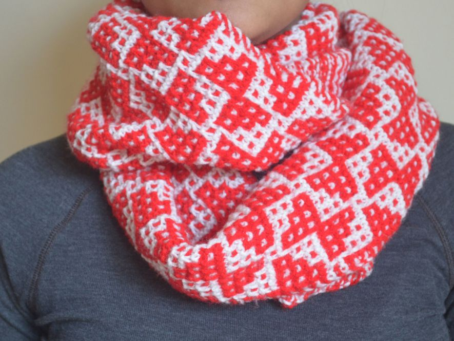 Cowl..Red Butterflies