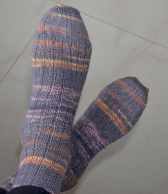 Self Striping Yarn Needles To Say More