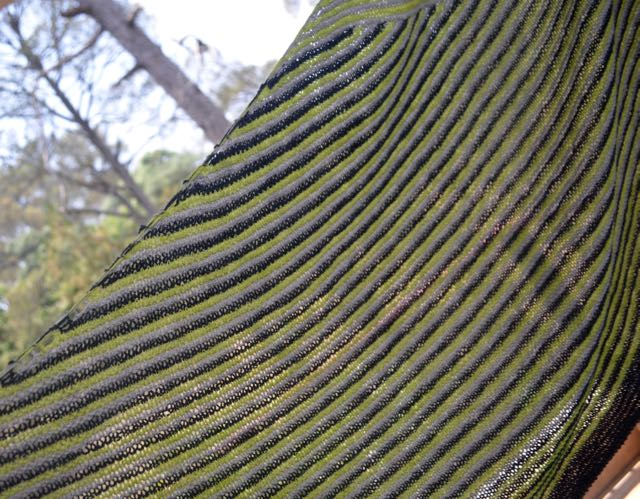 When garter stitch ruled the month