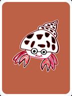 Happy Hermit Crab