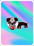 Poised Pug