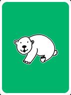 Prudent Polar Bear