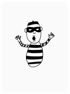 Befuddled Burglar
