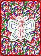 Basketball Butterfly