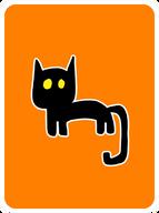 Very, Very, Very, Very, Lucky Black Cat