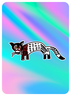 Awesome African Civet