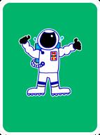 Adventurous Astronaut
